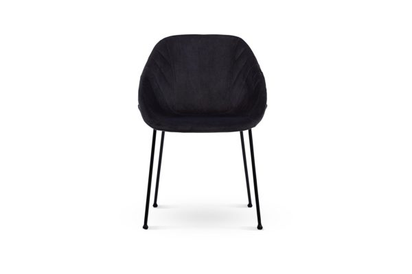 Zac Dining Chair Dark Grey