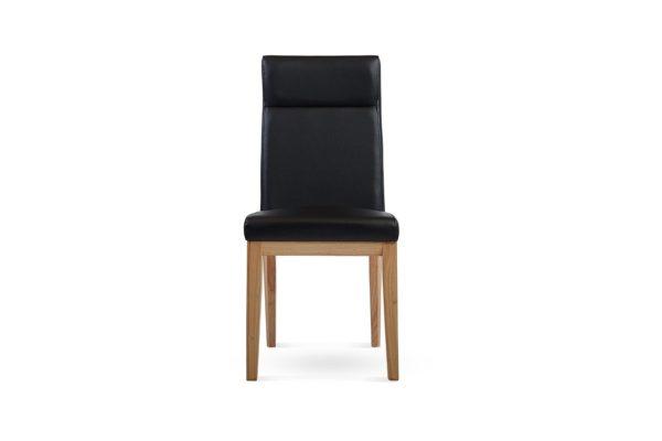 Zane Dining Chair Black/Natural