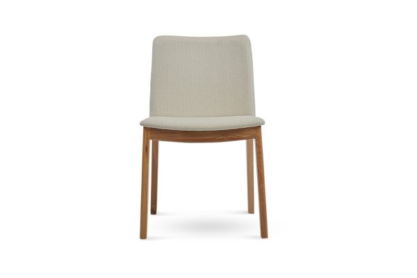 Siglo Dining Chair Beige Classic Jacquards Vibe Porcelain