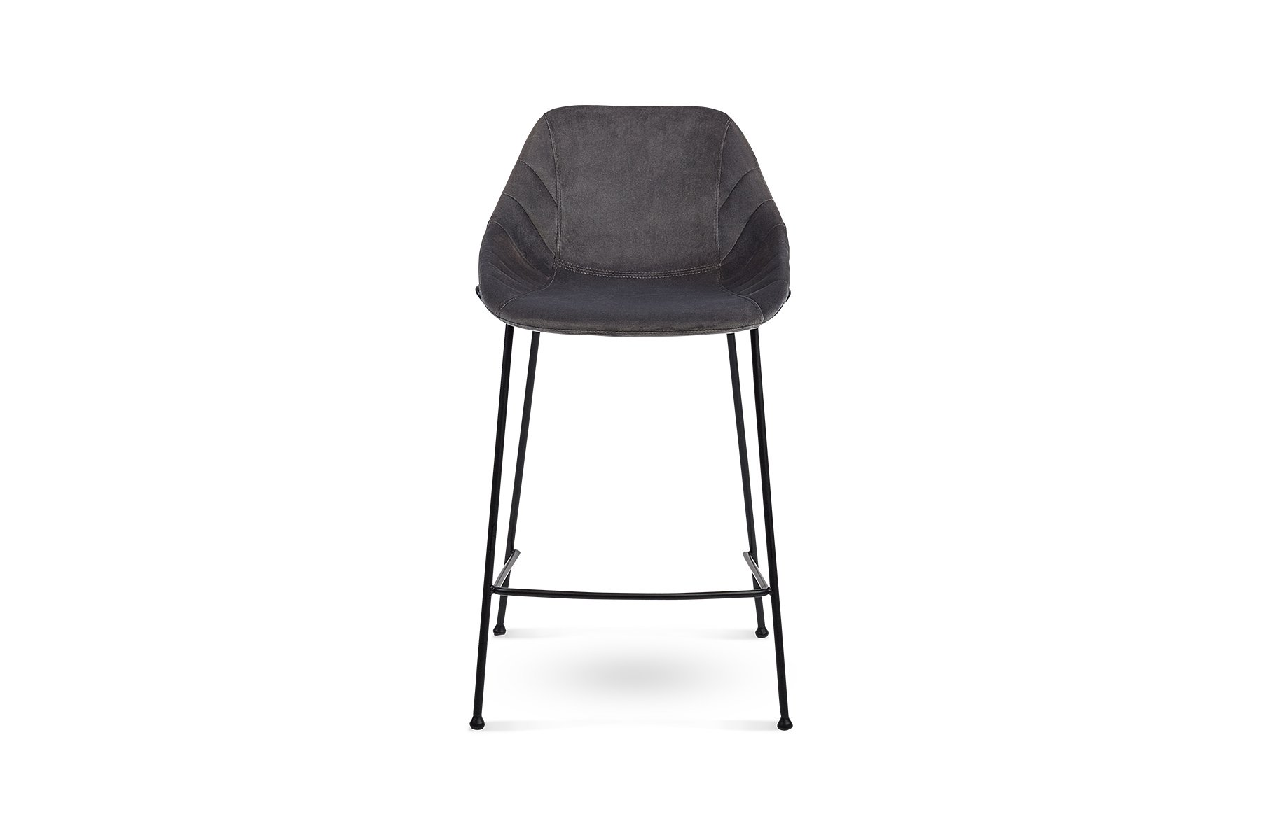 Zac Stool Grey Catalano Interiors