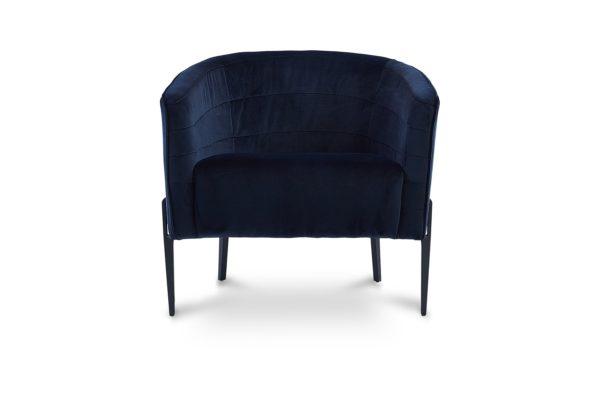 Jess Occasional Chair Dark Navy Blue