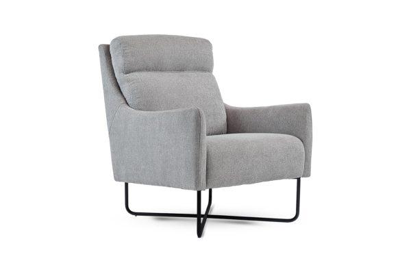 Mila Occasional Chair Dark Grey