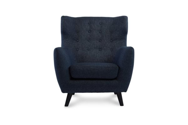 Heron Occasional Chair Mission Denim