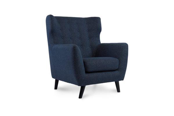 Heron Occasional Chair Mission Denim