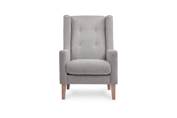 Poppy Occasional Chair Grey Gum