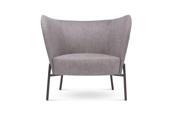 Verna Occasional Chair Dark Brown