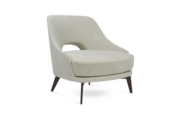 Smania Occasional Chair Warm Grey