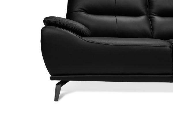 Finlay 3+2 Seat Leather Lounge Set