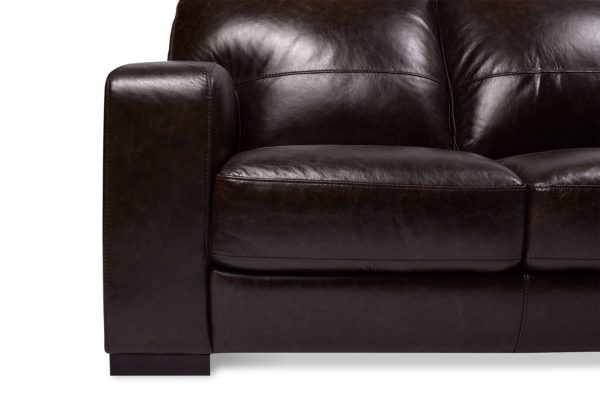 Dakota 2 & 3 Seat Leather Lounge Set