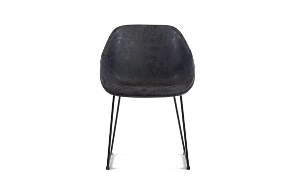 Lovella Dining Chair Dark Grey