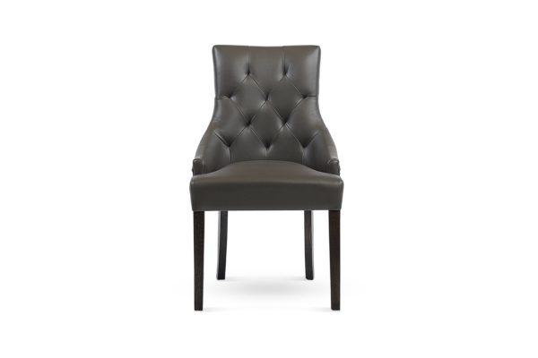 Zara Dining Chair Charcoal Grey