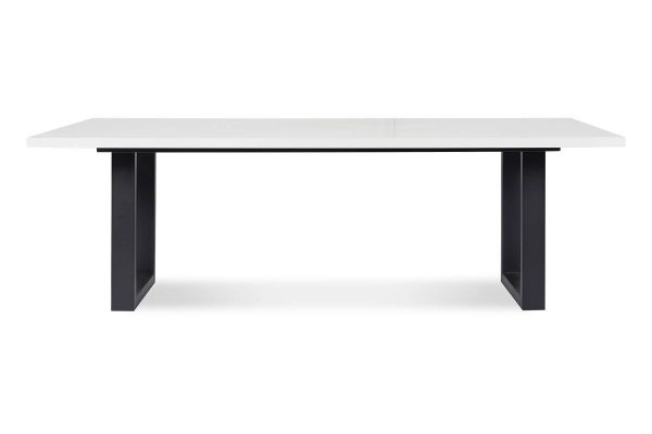 Quartz Dining Table with Flow Legs