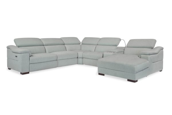 Monica Corner Recliner Chaise Lounge