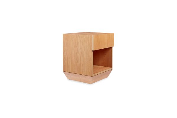 Roma Bedside Table Natural