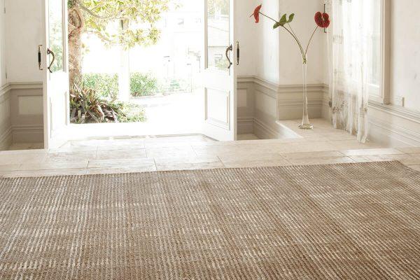 Kensington Taupe Floor Rug