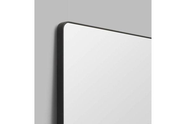 Flynn Curve Leaner Mirror Black