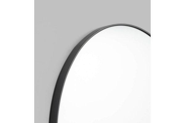 Bjorn Round Mirror Black Large