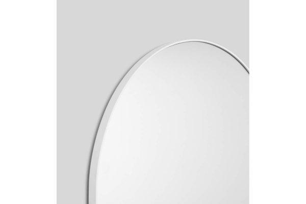 Bjorn Arch Floor Mirror White