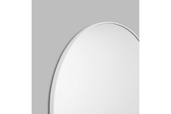 Bjorn Arch Floor Mirror White