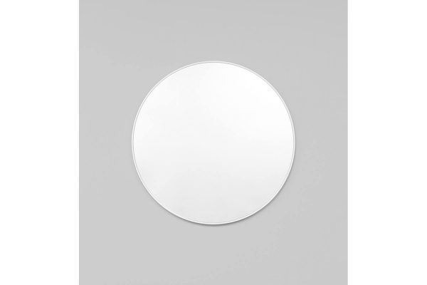 Bjorn Round Mirror White Large
