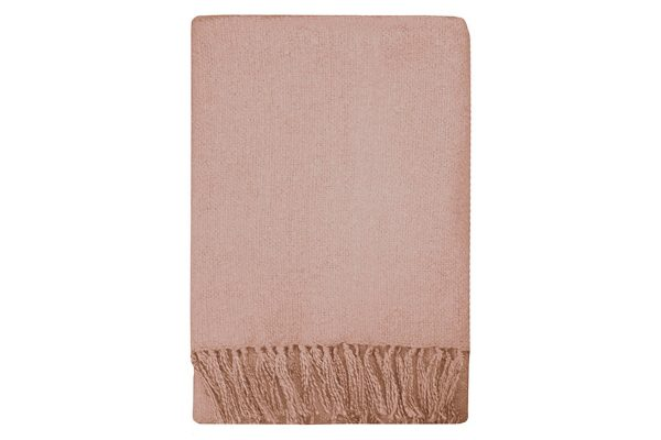 Rhapsody Dusky Pink Throw