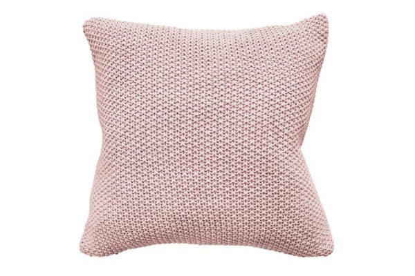 Milford Moss Stitch Dusky Pink Cushion