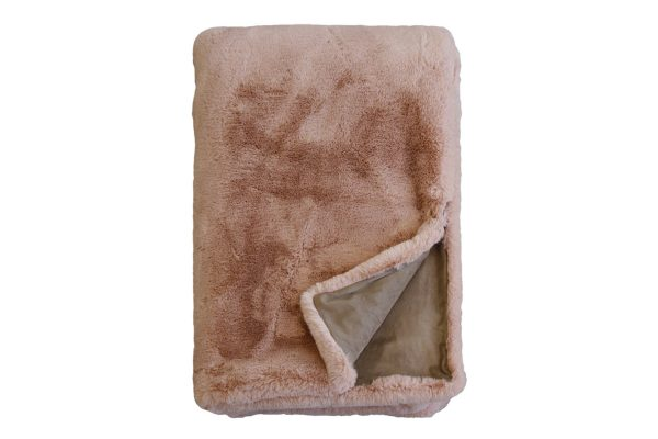 Pele Dusky Rose Throw