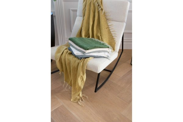 Indira Ochre Throw