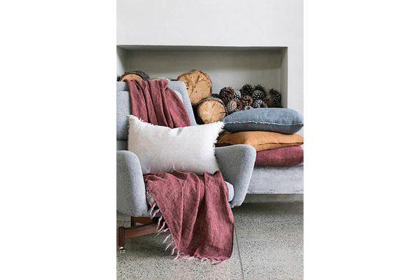 Kobo Red Clay Cushion