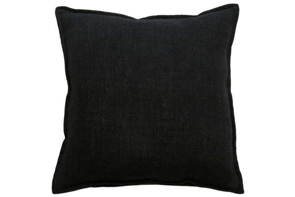 Flaxmill Black Cushion