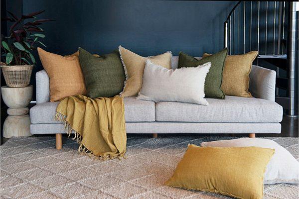 Indira Nubuck Cushion