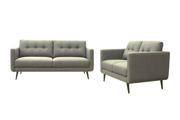 Hogan Grey Gum 2 & 3 Seat Lounge Set