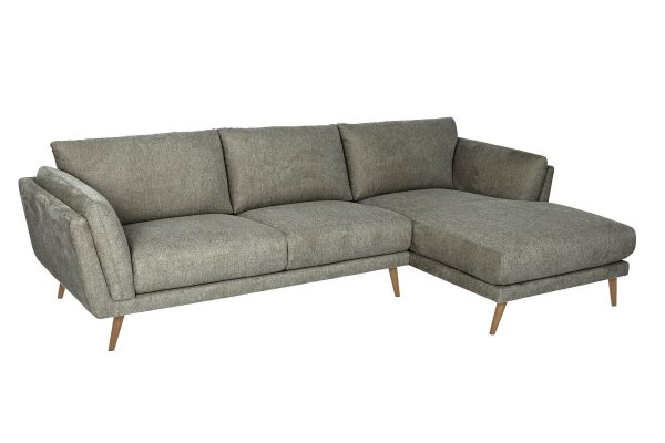 Marley Chaise Lounge Grey Gum
