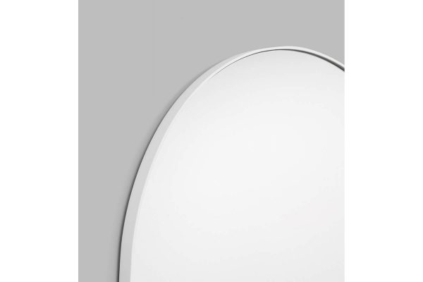 Bjorn Arch Oversized Mirror White