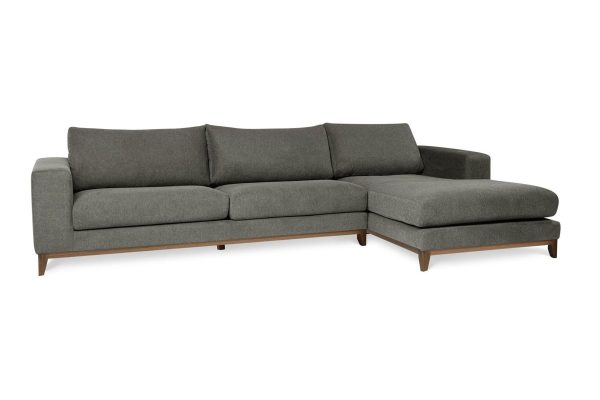 Rose Chaise Lounge Grey Gum