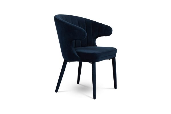 Cleo Dining Chair Navy