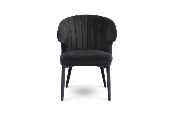 Cleo Dining Chair Charcoal