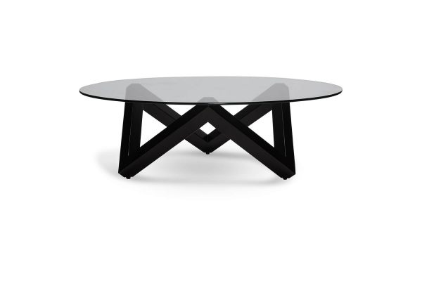 Finland Coffee Table Black Legs