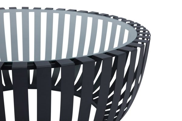 Sonic Coffee Table Black