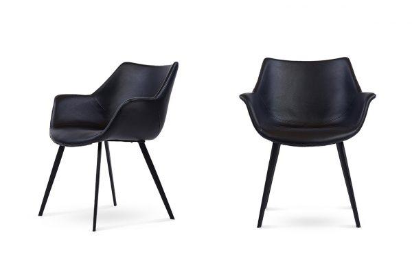 Doulton Dining Chair Set Black
