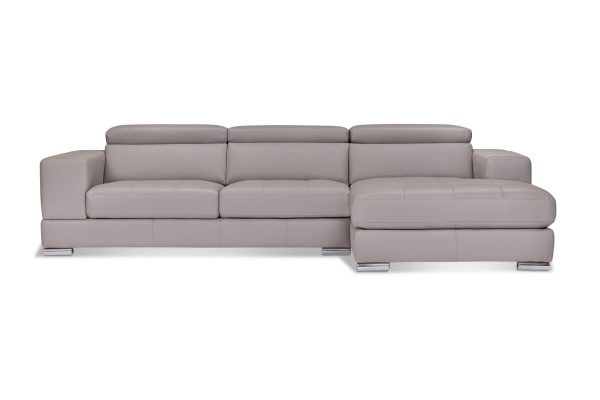 Tobago Leather Chaise Lounge