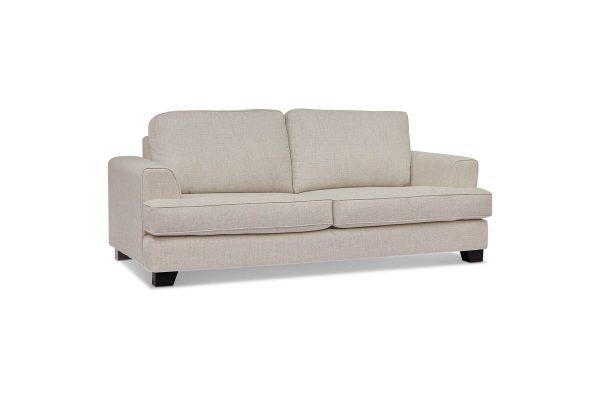 Chloe Milano Pumice 3 Seat Lounge