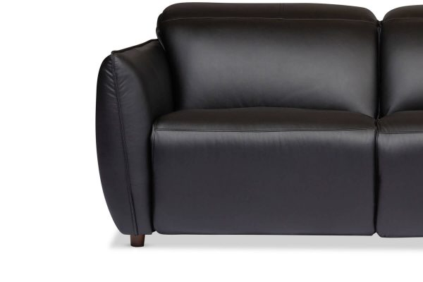 Emerson Leather 2.5 & 3 Seat Recliner Lounge Set