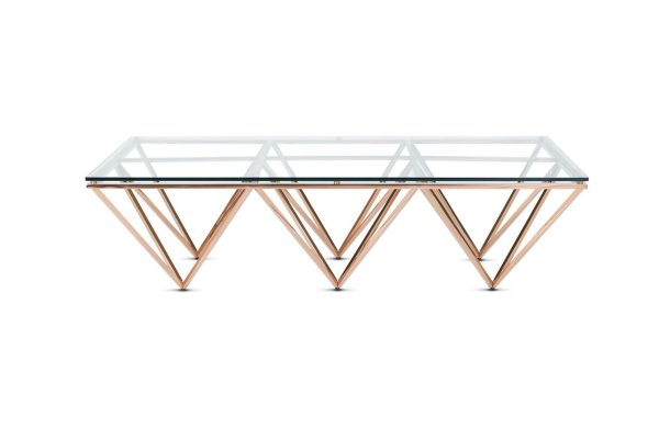 Tommy Coffee Table Rose Gold