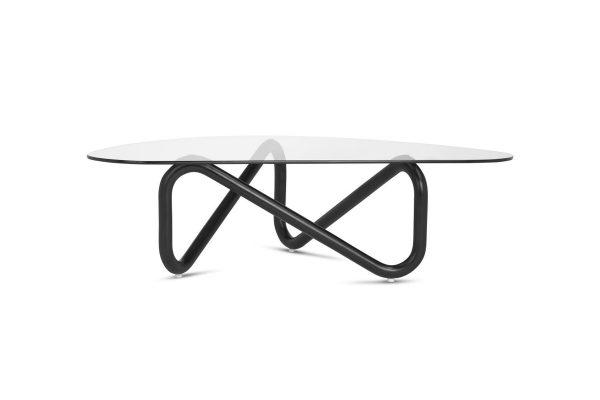 Spiral Coffee Table Black Legs
