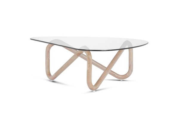Spiral Coffee Table Natural Legs